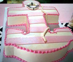 Nautical Anchor birthday cake