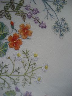 japanese embroidery book | Flowers