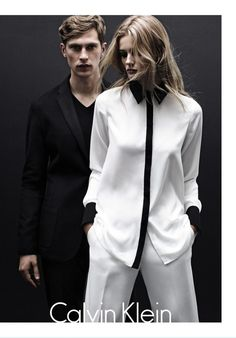 Mathias Lauridsen Fronts Calvin Klein White Label Fall/Winter 2012 Campaign