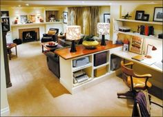 Living room office combo with smart design for living room home decorators furniture quality 1