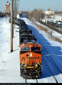 RailPictures.Net Photo: BNSF 7339 BNSF Railway GE ES44DC at Cicero, Illinois by Robby Gragg