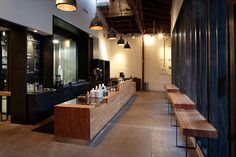 Stumptown Coffee Roasters (Los Angeles) on Interior Design Served