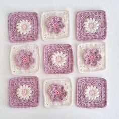 Best 11 Granny square with interesting color combination – SkillOfKing. Crochet Cushion Cover, Crochet Cushions, Crochet Quilt, Crochet Motif, Crochet Yarn, Granny Square Crochet Pattern, Crochet Squares, Crochet Blanket Patterns, Knitting Patterns