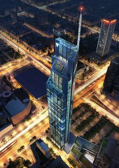 Gallery of Foster + Partners Begins Construction on Poland's Tallest Tower - 1