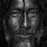 Portrait Of A Mystic Man From The Shrine Of Madhu In Lahore | Documentary, Nature and Art photography by Razaq Vance