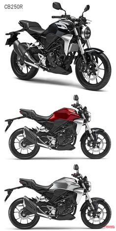 2018新型CB250R/CB125Rは50~/45万円で発売 | WEBヤングマシン