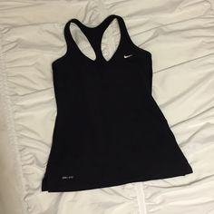 PRICE DROP Nike Dri Fit Tank, Size Small Black workout tank. Great condition. Nike Tops Tank Tops