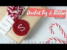 CHRISTMAS SERIES: Crochet Tag and Ribbon | Bella Coco - YouTube