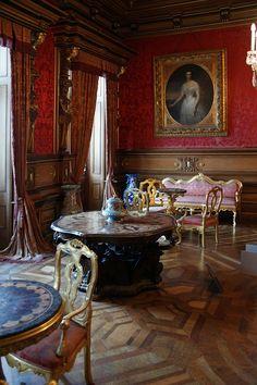 """""""Castelo de Miramar"""". Interior."""