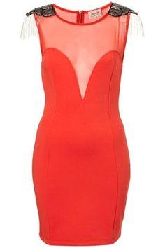 Embellished Fringe Shoulder By Dress Up Topshop** - StyleSays
