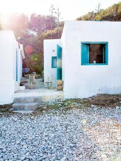 mediterranean style rustic house
