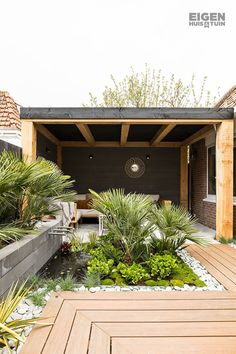 Outdoor Landscaping, Outdoor Decor, Backyard Patio Designs, Backyard Lighting, Back Gardens, Interior Exterior, Garden Styles, Garden Inspiration, Home And Garden
