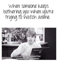 Leave me alone, I'm busy!! -- {anime, manga, otaku, fangirl}