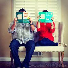 Pregnancy Announcement - Dr. Suess, Books