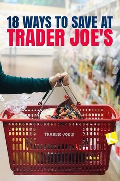 If you're searching for Trader Joe's recipes or the best healthy Trader Joe's shopping list, you're gonna want to read this first! The Krazy Coupon Lady has the tips you need for how to save money at Trader Joe's, because, TJ's can really get expensive if you're not careful. Now, there are some amazing Trader Joe's deals like Two Buck Chuck and fresh whole fruit, but there are other things that can cost up to 40% more than at your regular grocery store. Read on for the best money saving…