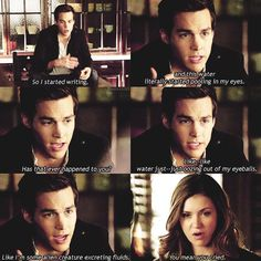 The Vampire Diaries ... Kai and Elena ... you mean you cried