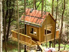 treeless tree house plans