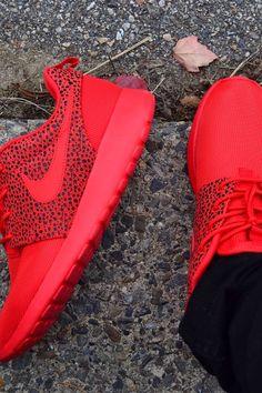 8e60137ae2c3 Nike Roshe Run  Red Safari Nike Shoes Outlet