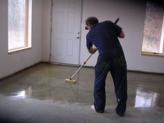 Homemade Concrete Stain How To Stain Concrete With Iron
