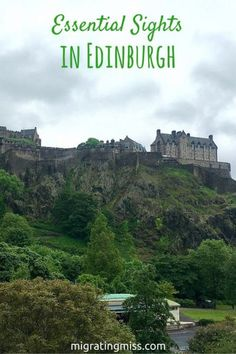 Top Things to do in Edinburgh. Best Things to See in Edinburgh. What to Do in Edinburgh, Scotland. #edinburgh #scotland