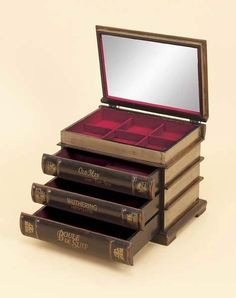 Literary treasure box// This is cute but to me books are worth more than jewels.