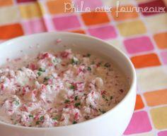 Philo aux fourneaux: Tartinade de radis au fromage frais