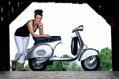 Samantha and 1959 Vespa GS150 #2 Photoshoot by: Creative images by Allison | Flickr - Photo Sharing!