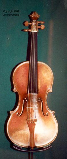 Nicolo Paganini Canon 2 Violin.A violin made by Joseph Guarneri, Del Jesu, 1743.