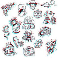 Tatuagem: Foguete com um olho com a pupila diltada - List of the most beautiful tattoo models Flash Art Tattoos, Tattoos 3d, Bild Tattoos, Body Art Tattoos, Small Tattoos, Cool Tattoos, Tatoos, Piercing Tattoo, Piercings