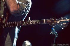 Avett banjo