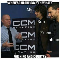 A for King & Country meme by: priceless.craver