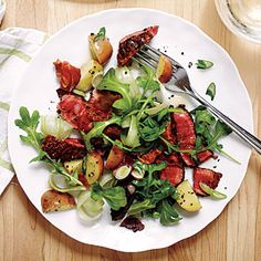 Warm Potato and Steak Salad | MyRecipes.com #myplate #protein #vegetables
