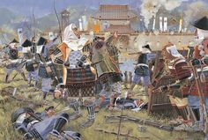 """""""The first full day of the siege of Nagashino, 1575"""""""