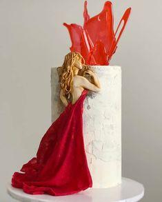 "Cake Art Lookbook on Instagram: ""When🎂 is art! This artistic creation via @innasartcake  #cake #art #fondantart #specialtycakes #cakedecorator #cakevideo #caketutorial…"" Cake Videos, Specialty Cakes, Cake Tutorial, Cookies Et Biscuits, Cake Art, Amazing Cakes, Fondant, Cake Decorating, Artist"