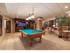 Game Room | Billiards | Pool Table - Barefoot Beach - Naples, Florida