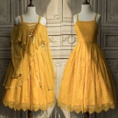 The Ninth Planet -Where The Flowers Blossom- Lolita Outlayer Dress,Lolita Dresses, Pretty Outfits, Pretty Dresses, Beautiful Dresses, Lolita Fashion, Look Fashion, Fashion Design, Club Fashion, 1950s Fashion, Fashion Vintage