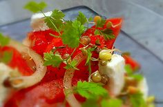 CYKORIA - sałatka z fety i pomidora