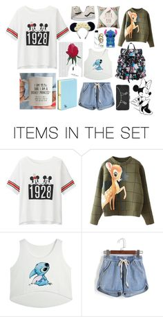 """""""Disney"""" by splash-of-collor ❤ liked on Polyvore featuring art"""