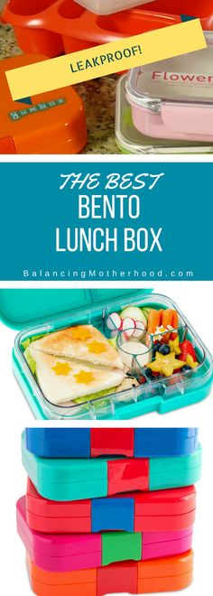 I've found the best bento lunch box that's leakproof and perfect for a kid's school lunch box! Includes a full video review!
