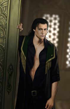 Loki Variation by LaElizO Fan Art / Digital Art / Painting & Airbrushing…