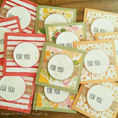 Denita Wright - Independent Stampin' Up! Demonstrator: Global Design Project - Theme Challenge #gdp051