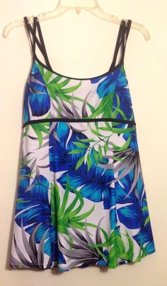 881c566ecb Womens Size 18 One Piece Swimsuit Bathing Suit Swimdress Jaclyn Smith  Island #JaclynSmith #Swimdress