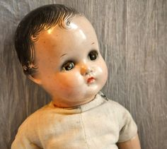 "Antique Madam Alexander Compostition 17"" Baby Doll Very Old"
