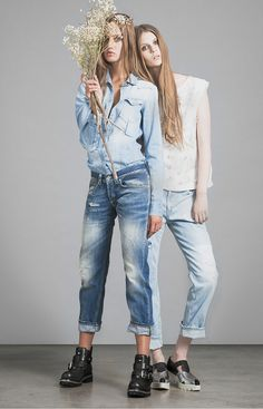 Wearing Denim: Segolene and Paige SS15 Women's - Dondup Resort Collection