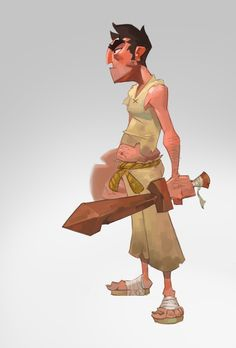 Category: Daniel Araya - Character Design Page