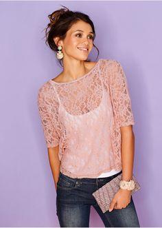 #lace #shirt #bonprix