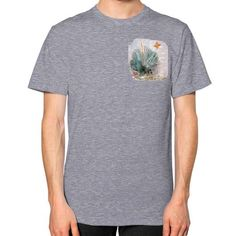 New Mexico Yucca Plant Unisex T-Shirt (on man)
