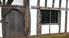 Clergy House lancet head doorway to great hall