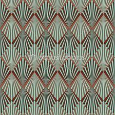texture de modèle sans soudure pour le style art déco — Photographie odze © #21903301