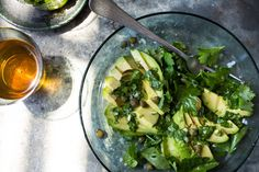 This salad is both dead simple to make and highly luscious It gets a velvety richness from the avocados The salad is enlivened by a splash of red wine vinegar in the dressing and a handful of briny capers sprinkled on top